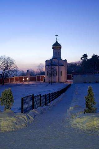 Свято-Никольский Угрешский монастырь